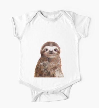 Little Sloth One Piece - Short Sleeve