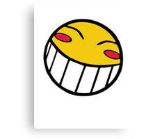 Cowboy Bebop Radical Ed Smiley Face Canvas Print