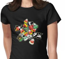 Horror Corn :) Womens Fitted T-Shirt