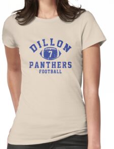 Dillon Panthers Football - 7 Womens Fitted T-Shirt