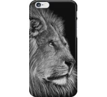 A Watchful Eye - lion iPhone Case/Skin