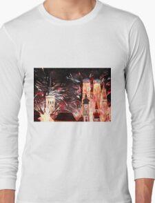 Munich, New Years Eve Fireworks Long Sleeve T-Shirt