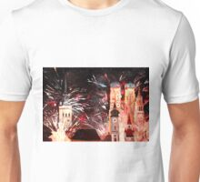 Munich, New Years Eve Fireworks Unisex T-Shirt