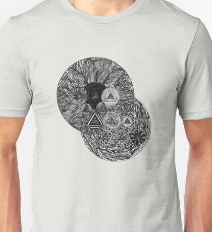 Otherworldly Abstract Drawing - 9.29.16 (1) Unisex T-Shirt