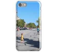 Waiting For the Parade iPhone Case/Skin
