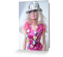 Barbie Doll Greeting Card