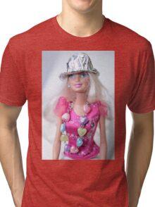 Barbie Doll Tri-blend T-Shirt