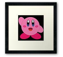 Wave Hi to Kirby Framed Print