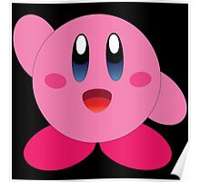 Wave Hi to Kirby Poster