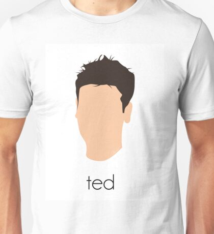 How I Met Your Mother - Ted Headshot Unisex T-Shirt