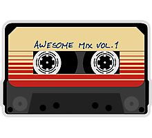 Awesome, Mix Tape Vol.1, Guardians of the galaxy Photographic Print