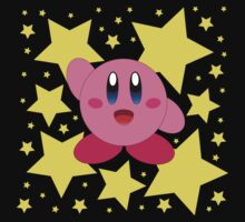 Kirby in the stars One Piece - Long Sleeve