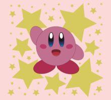 Kirby in the stars Kids Tee