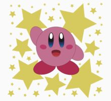 Kirby in the stars Baby Tee