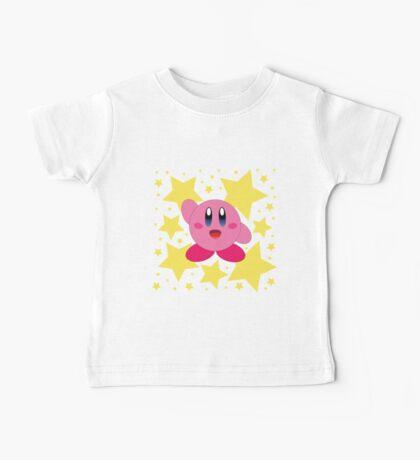 Kirby in the stars Baby Tee