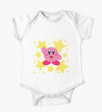 Kirby in the stars One Piece - Short Sleeve