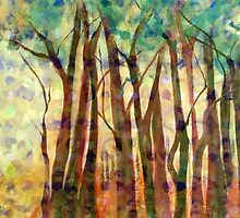 Patterned Trees by Ruth Palmer