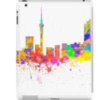 Auckland New Zealand Skyline iPad Case/Skin