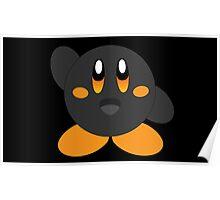 Carbon Kirby - Orange Eyes Poster
