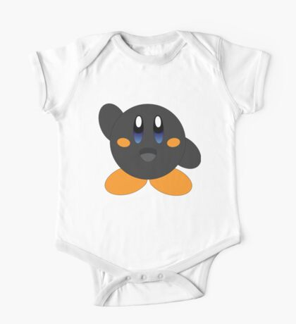 Carbon Kirby - Blue eyes One Piece - Short Sleeve