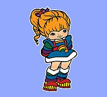 Rainbow Brite [ iPad / iPhone / iPod case, Tshirt & Print ] by Damienne Bingham