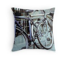 Dublin Bicycles Throw Pillow
