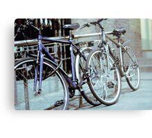 Dublin Bicycles Metal Print