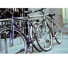 Dublin Bicycles Photographic Print