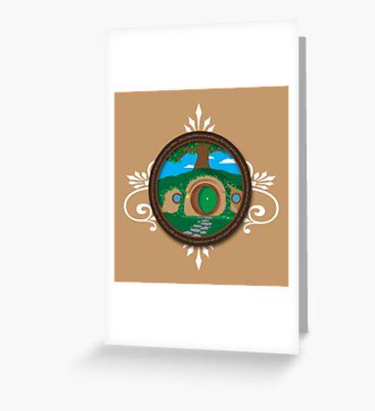 Bag End Greeting Card
