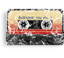 Awesome, Mix Tape Vol.1 Canvas Print