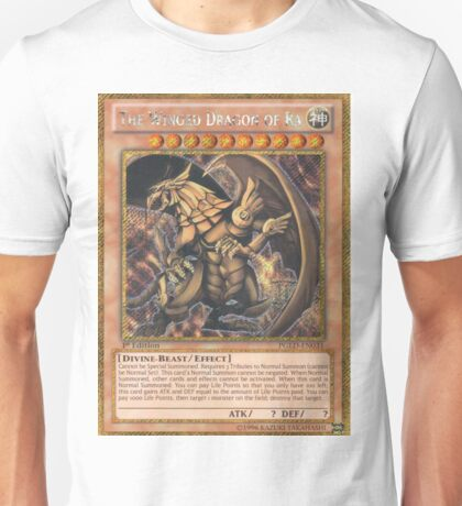 The Winged Dragon of Ra Unisex T-Shirt