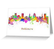Baltimore USA Greeting Card