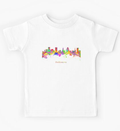 Baltimore USA Kids Tee