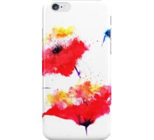 """""""Two red flowers"""" iPhone Case/Skin"""