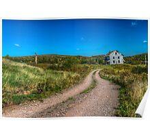 Abandoned House, Earltown, Nova Scotia Poster