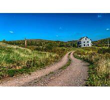 Abandoned House, Earltown, Nova Scotia Photographic Print