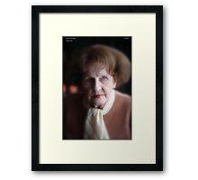 I do love you My Mother . by Andrzej Goszcz. Framed Print