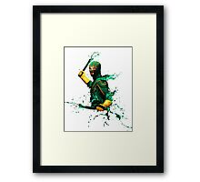 KICK ASS ⬛ Digital Painting Framed Print