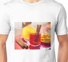 Fruit citrus tea with cinnamon and orange Unisex T-Shirt