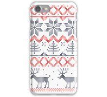 Nordic Christmas Pattern iPhone Case/Skin