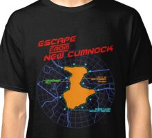 Escape From New Cumnock Title Map Classic T-Shirt