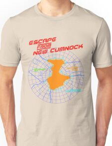 Escape From New Cumnock Title Map Unisex T-Shirt