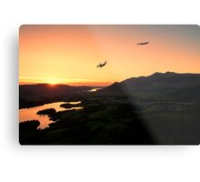 Lancasters Flying Over Keswick Metal Print