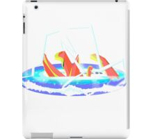 The monster beneath the sea iPad Case/Skin