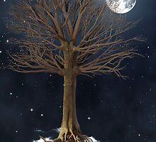 floating tree by Sassella