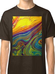 psyche fun art colorful Classic T-Shirt