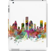 Houston Texas Skyline iPad Case/Skin