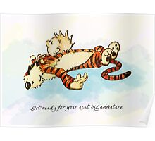Calvin and Hobbes Resting Poster