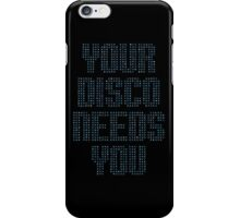 Kylie - Your Disco Needs You (Blue) iPhone Case/Skin