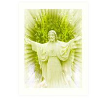 Today Is The Day With Jesus Art Print